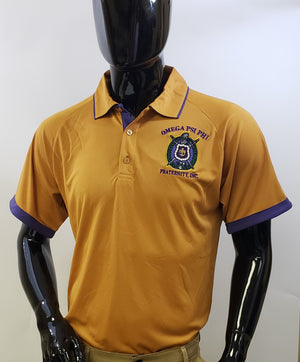Omega Two-Toned Dry Fit Polo