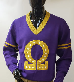 Omega Letterman Sweater