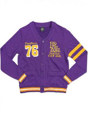 PRAIRIE VIEW A&M MEN'S CARDIGAN