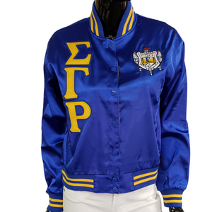 S G Rho  Satin Jacket