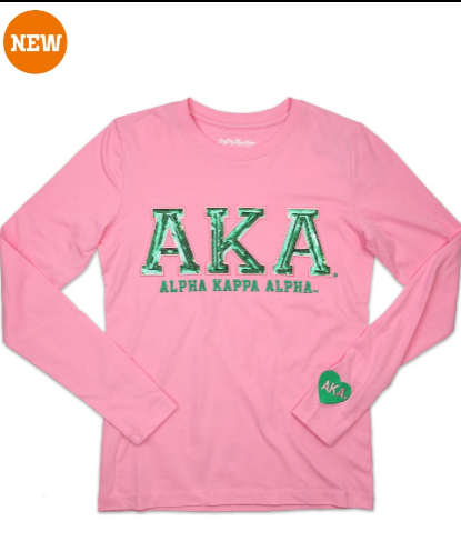 AKA Long Sleeve Tee