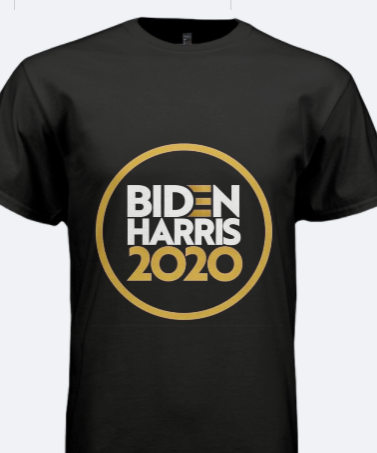 Black & Gold BIDEN/ HARRIS Tees