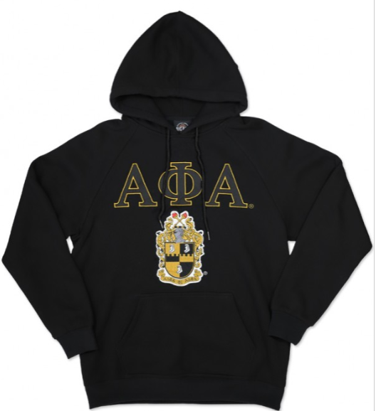 Alpha Hoodie with Crest