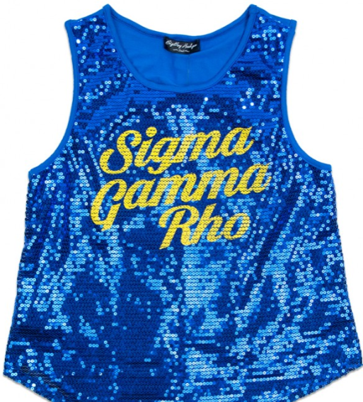 S G Rho Sequin Tank