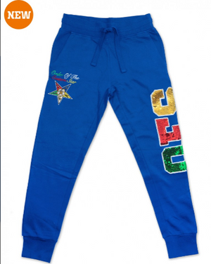 OES Sequin Joggers