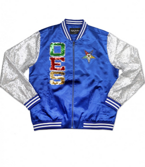 OES Sequin Jacket