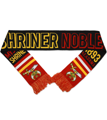 NOBLE Shriner Scarf
