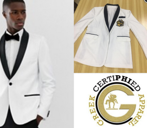 White Alpha Blazer