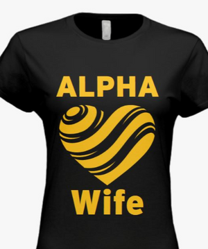 Alpha Wife Heart Tee