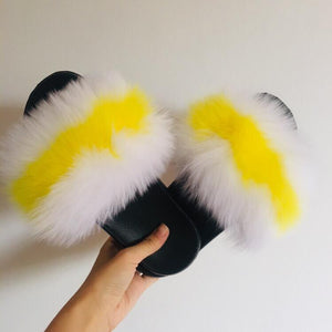 Lemon Delight- Fox Slippers