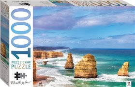 1000 Piece Jigsaw Puzzle of the Twelve Apostles in Australia