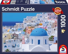 1000 Piece Jigsaw Puzzle of Santorini