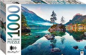 1000 Piece Jigsaw Puzzle - Hintersee Lake, Germany