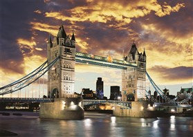 1000 Piece Jigsaw Puzzle by Schmidt - Tower Bridge London