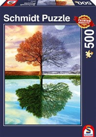 The Seasons Tree 500 Piece Schmidt Jigsaw Puzzle