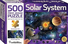 500 Piece Jigsaw Puzzle of the Solar System