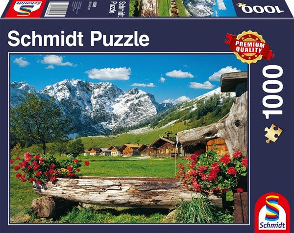 1000 Piece Jigsaw Puzzle 'Mountain Paradise'