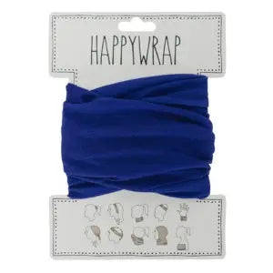 Happywrap for Hair, Head, Wrist or Neck Wrap or Face Mask - Navy Blue