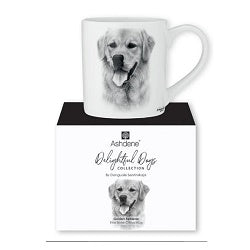 Fine Bone China Mug from Ashdene Delightful Dogs Collection - Golden Retriever