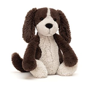 Jellycat Medium Bashful Fudger Puppy