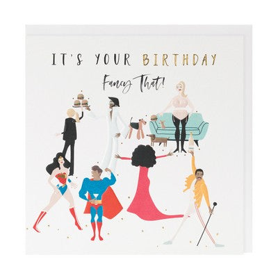 Card - It's Your Birthday, Fancy That!