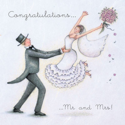 Card - Congratulations Mr and Mrs !