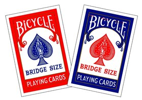Bridge Playing Cards by Bicycle
