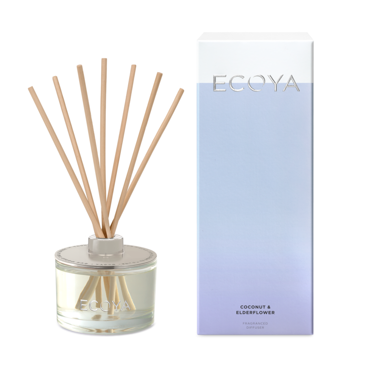 Ecoya - Coconut & Elderflower diffuser large