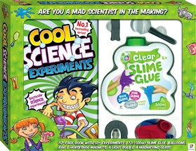 Cool Science Experiments - Ages 8+