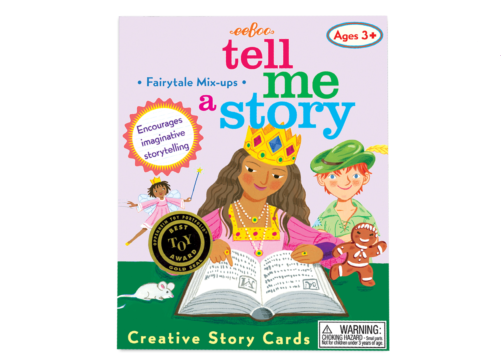 Book - create a story cards - fairytale mix-ups