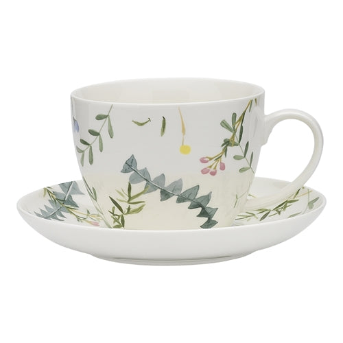 Ecology Greenhouse Cup and Saucer - 430ml