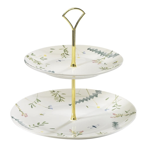 Ecology Greenhouse 2 Tier Cake Stand