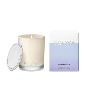 Ecoya Coconut & Elderflower Mini Madison Jar Candle