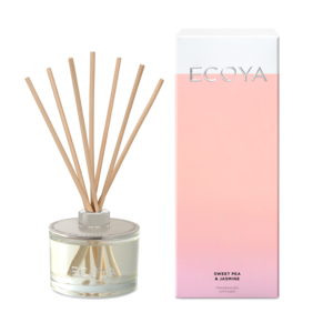 Ecoya Sweet Pea & Jasmine Fragranced Diffuser Large.