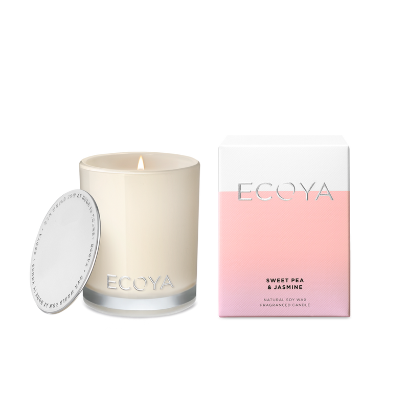 Ecoya - Sweet Pea & Jasmine Mini Madison Jar Candle