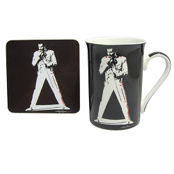 Freddy Mercury Mug & Coaster set