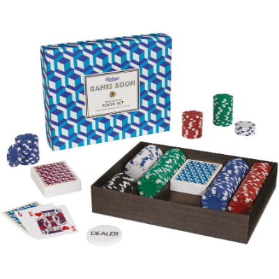 Texas Hold'em Poker Set - Know when to hold & when to Fold
