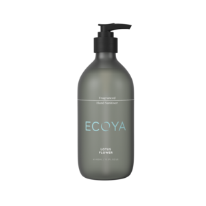 Fragranced hand sanitiser from Ecoya - Lotus Flower
