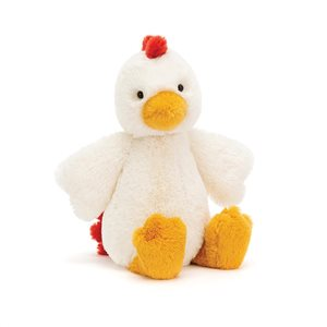 Jellycat bashful chicken medium