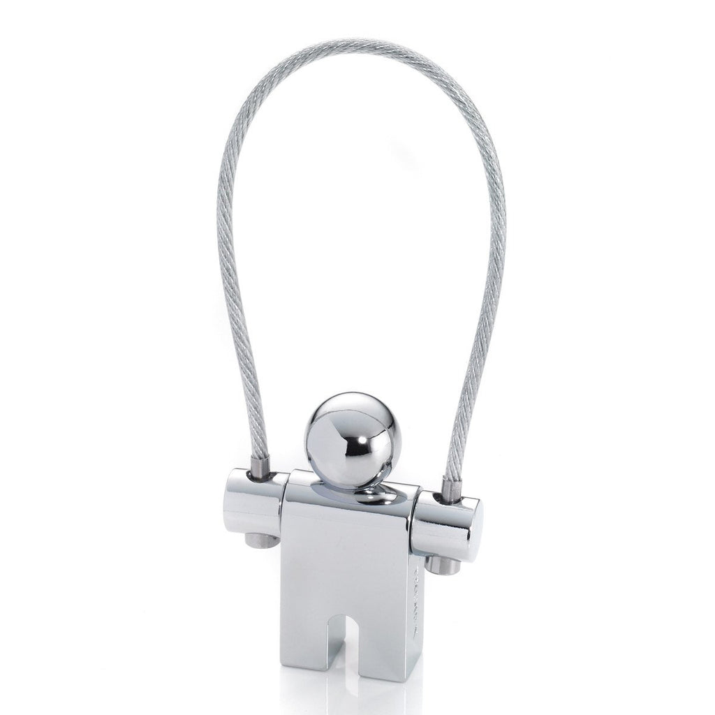 Troika's Iconic Jumper Key-ring in Silver