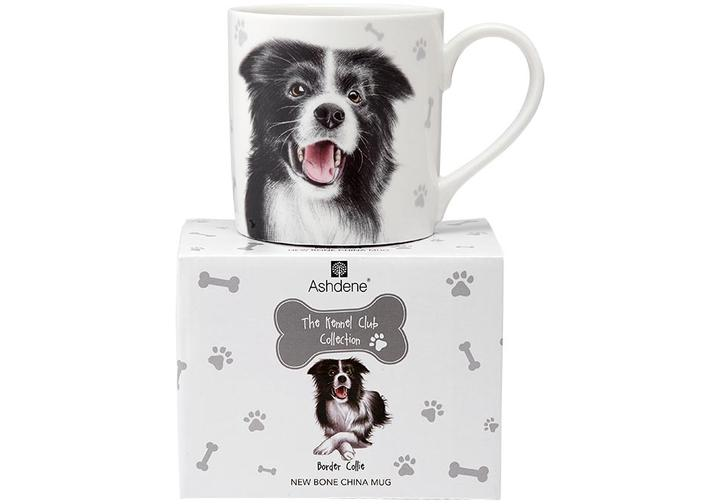 Border Collie Mug from Ashdene's The Kennel Club Collection