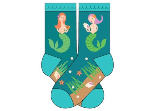 Socks kids - 4-7yrs - Mermaid