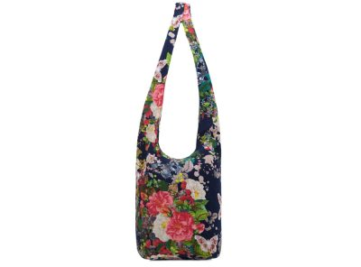 Bag - lady cross body - floral navy