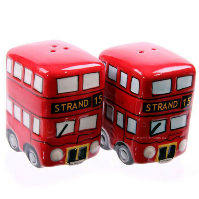 London Bus Salt & Pepper Shakers