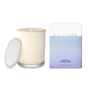 Ecoya Coconut & Elderflower Large Madison Jar Candle
