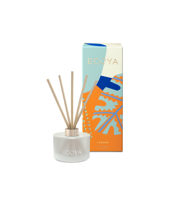 Ecoya Limited Edition Mini Reed Diffuser - Lagoon