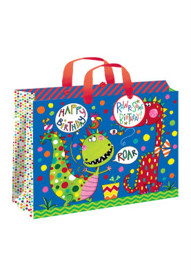 Gift bag - Happy Birthday - Large Landscape (w) 270mm (h) 120mm (d)