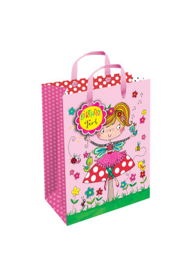 Gift Bag with gift tag - especially for the birthday girl