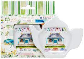 Australia Down Under Tasmania Large Tea Bag Holder