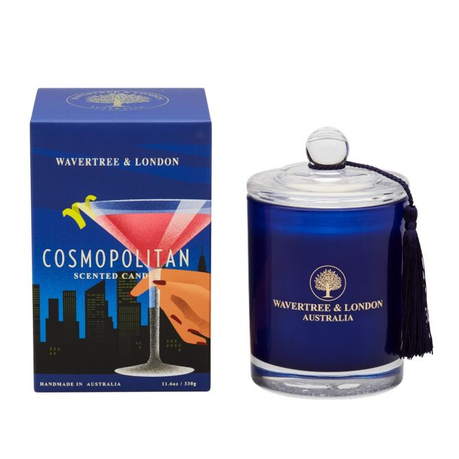 Cosmopolitan Scented Candle by Wavertree & London (Made in Australia)